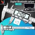 IP67 Bluetooth водонепроницаемый Цифровой точный штангенциркуль цифровой штангенциркуль из нержавеющей стали 0-150 мм