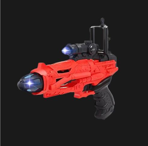 5959 AR 400249Electronic smart gun children magic pistol toy puzzle to enhance the realistic game handle model gift for kid 28cm
