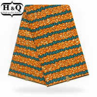 H&Q 2019 Hot sales African print wax fabric high quality wax fabric with breathable for dutch party,wedding dress,decorate