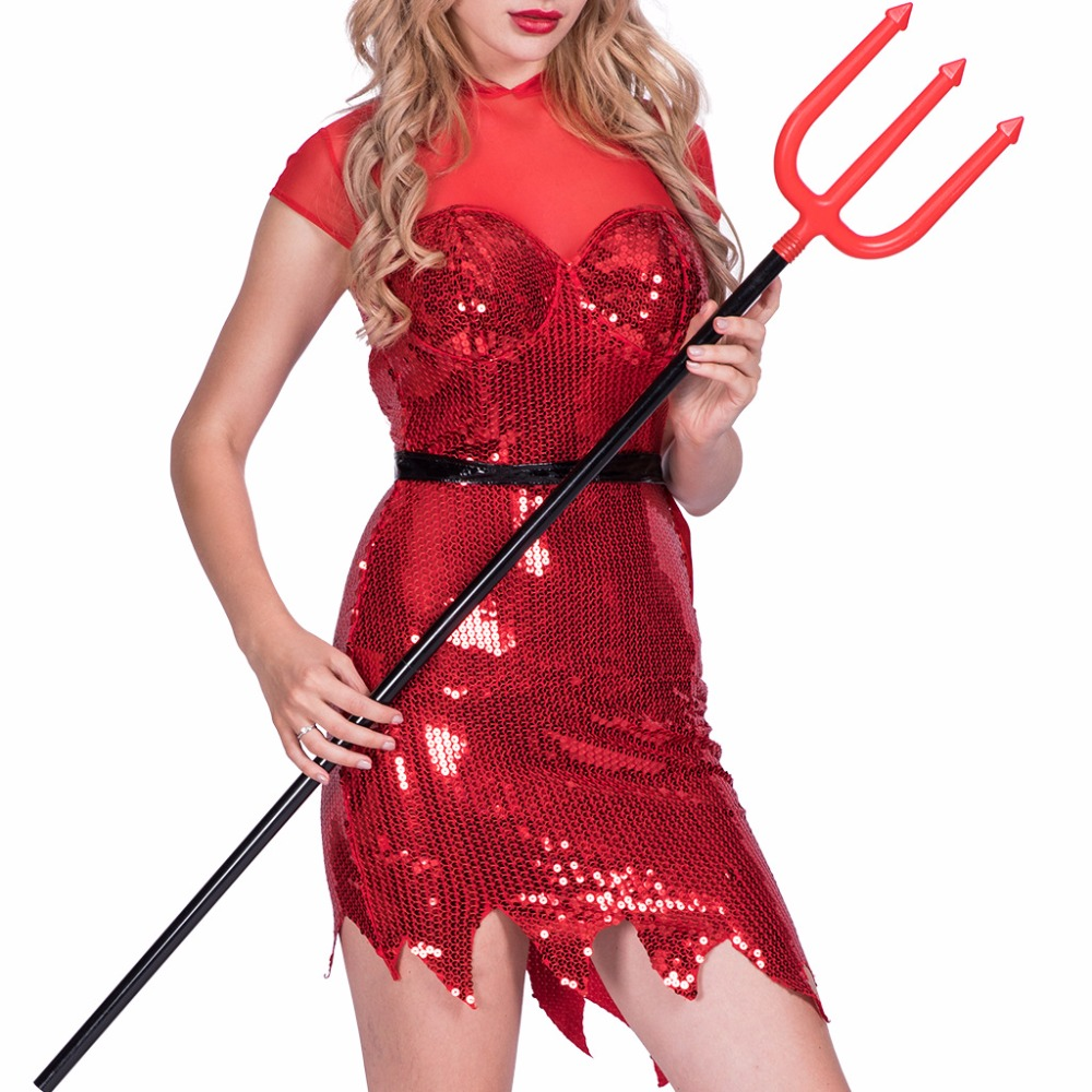Halloween Female Devil Cosplay Costumes in Movie TV costumes from Novelty Special Use