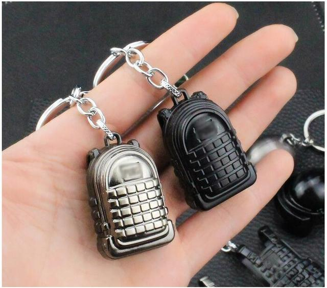 PUBG Frying Helmet Battlegrounds Key Chain