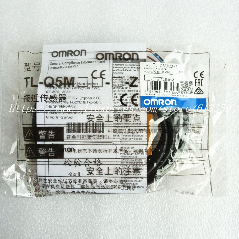 2pcs Tl Q5mc1 Z Q5mc2 Q5mb1 Npn Pnp No Nc Omron Proximity Switch Type Dc Inductive Sensor 3 Wire Dc10 30v 100 New Original In Sensors From Electronic