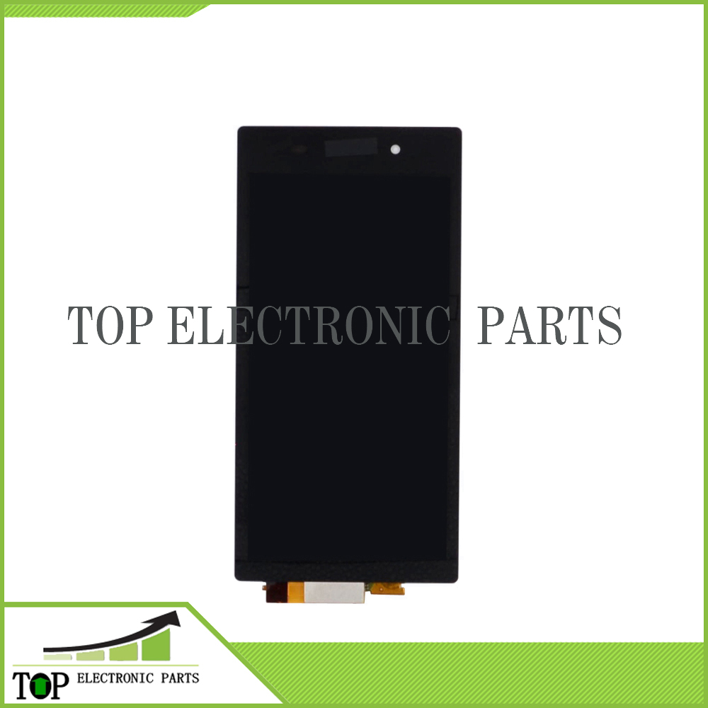 L39H LCD Display Touch screen with Digitizer Assembly For Z1 L39H,Black For free shipping