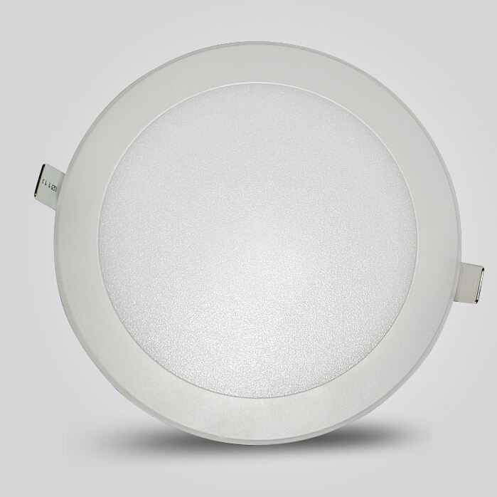 Doprava zdarma Kulaté LED panelové světlo 3W 4W 6W 9W 12W 15W 25W LED stropní zapuštěné stropní světlo do koupelny + Drive