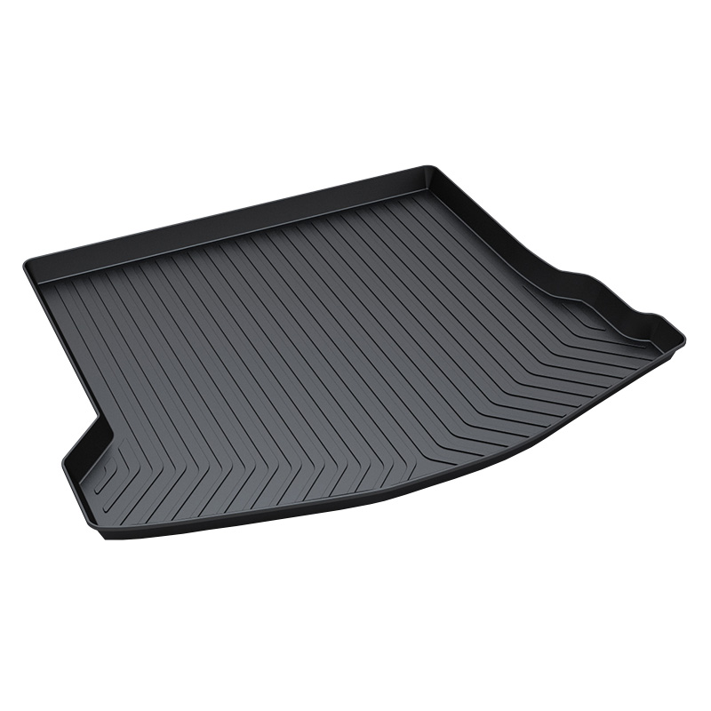 Trunk Tray Mat for Ford focus Sedan Car Trunk Mat Carpet Interior Tray for dogs 3D Trunk Mat trunk mat for ford mondeo 2008 2014 durable waterproof luggage mats tray for dogs