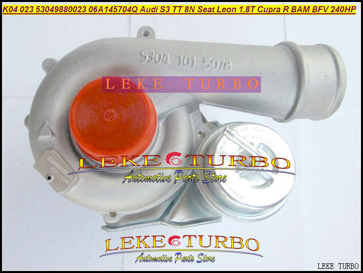 Livraison gratuite K04 023 53049880023 53049700023 06A145704Q QX QV Turbo pour AUDI S3, TT 8N pour Seat Leon 1.8 T Cupra R BAM BFV 1.8L 210HP