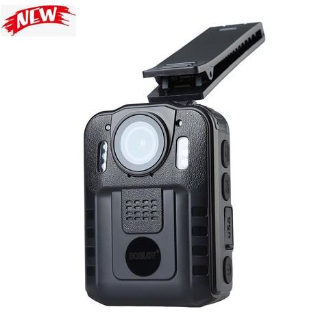 Boblov WN9 Body Worn Camera 1080P 64GB DVR Video Security Cam 170 Degree IR Night Vision Mini Camcorders Karachi