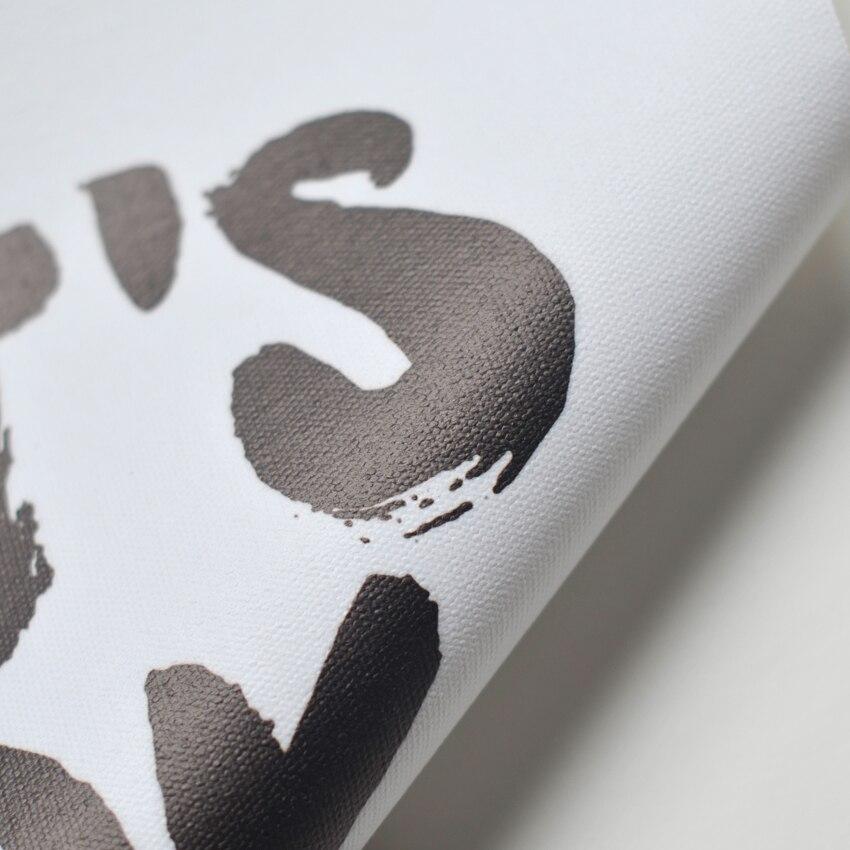 R 17 06 25 De Desconto Ele é Bem Inspirador Poster Wall Decor Lemas Motivacionais Casa Caligrafia Impressão Carta Quadro Não Inclui Pintura Da Lona