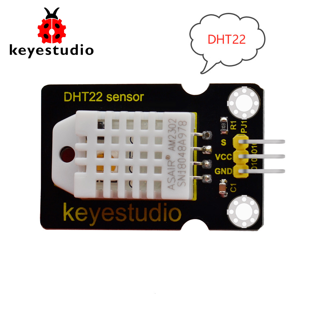 Keyestudio DHT22 (AM2302)Temperature And Humidity Sensor For Arduino Uno R3