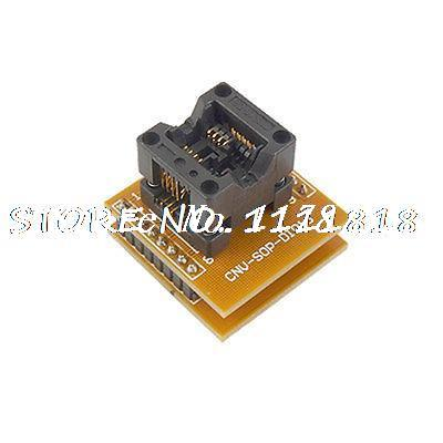 Double Row 16 Pin DIP to 8 SOP Socket Programer Adapter