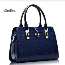 for women bag 2018 Europe women leather handbags PU handbag