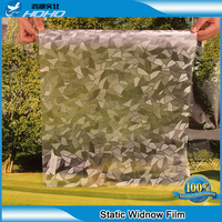 90 CM X 5 M Stained Glass Reapply Reusable Static Frosted Window Glass Film