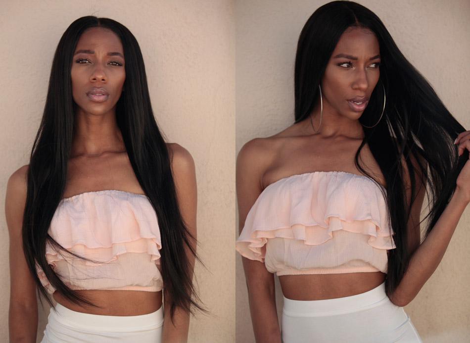 SilkyStraight QueenKing 360 Lace Frontal Encerramento Nós