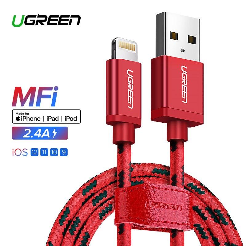 Ugreen für iPhone Kabel Blitz zu USB Kabel für iPhone 8 Xs Max XR 7 Schnelle Ladekabel Handy kabel USB Ladegerät Kabel