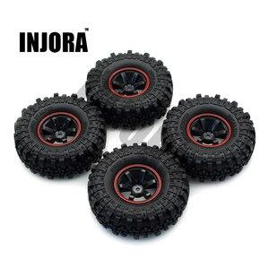 Image 1 - INJORA 1:10 RC Rock Crawler 1.9 Inch Lốp Xe Cao Su & Nhựa Bánh Bộ Cho Trục SCX10 Sơn Mô Hình Chuyên Dụng Tamiya CC01 D90 TF2
