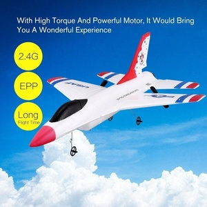Image 4 - New Design 290mm Wingspan EPP RC Fixed Wing Airplane RTF  2.4G 2CH Glider Model FX 823