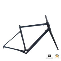 Full Monocoque Road Bicycle Carbon Frames Cycling Road Racing Frame Fork 700C