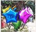 Hot sales 5 pcs 18 Inch  Foil Star Balloon Metallic Balloon Wedding Free Shipping