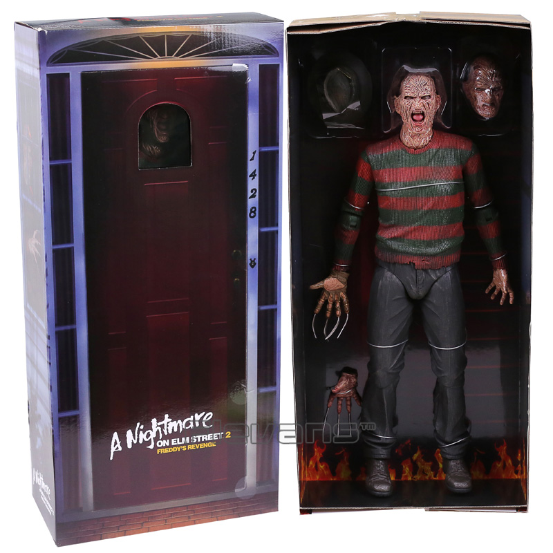 NECA A Nightmare on Elm Street 2 Freddy's Revenge / 3 Dream Warrior Freddy Krueger PVC Action Figure Collectible Model Toy 50cm hot freddy classic horror film nightmare on elm street 30th anniversary ultimate neca 18cm action figure new box