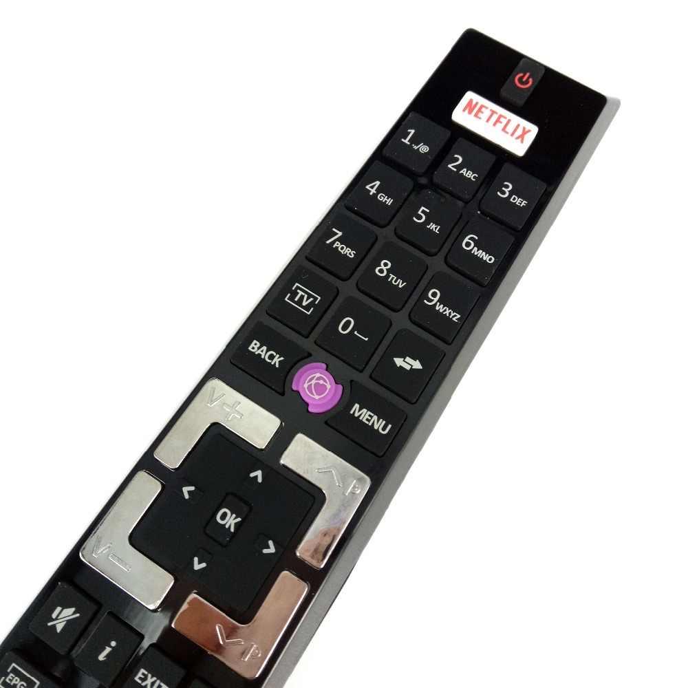 新しい交換 RCA4995 TENSAI ためテレフンケン特定 Edenwood テレビリモコン RCA4995/30087733 TE43404G37Z2P ため TE32287B35T
