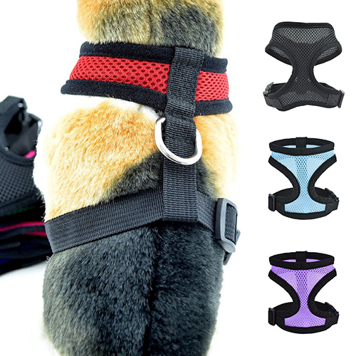 Hot Tinghao Dog Puppy Walk Collar Soft Mesh Safety Strap Vest Adjustable Pet Control Harness Dog Carriers Home & Garden Pet Products