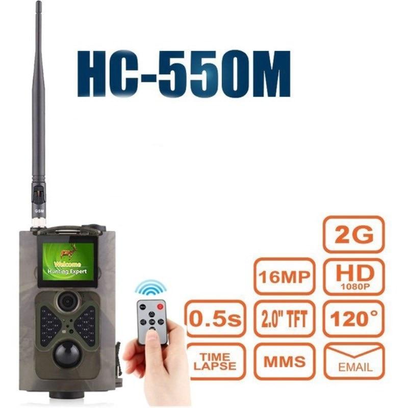 Goujxcy HC550M 2G MMS Hunting camera 16MP 940nm Infrared sensor Wild camera photo traps animal night