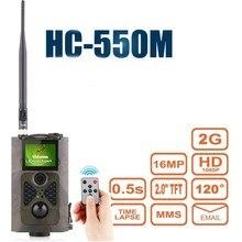 Goujxcy HC550M 2G MMS охоты камеры 16MP 940nm инфракрасный датчик дикие ловушки для фотоаппаратов животных ночного видения лесной Скаут камера