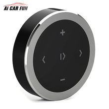 2017 NEW Bluetooth Car Wireless Mobile Phone Multimedia Multifunctional Steering Wheel Remote Controller CR2032 button battery