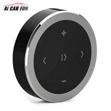 Новые Bluetooth Автомобильный Беспроводной мобильный телефон Мультимедиа многофункциональный руль пульт дистанционного управления CR2032 Кнопка Батарея
