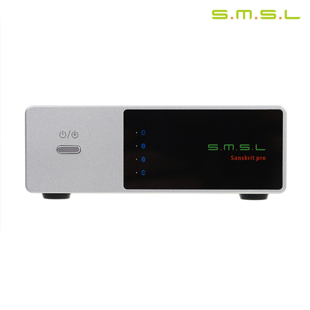 SMSL Sanskrit PRO-B DSD USB DAC Bluetooth 4.0 Version Audio Decoder 32Bit/384Khz Decoder Asynchronous With Power Supply smsl m8 dsd dac optical coaxial xmos usb asynchronous es9018k2m 24bit 384khz digital decoder aluminum enclosure new version