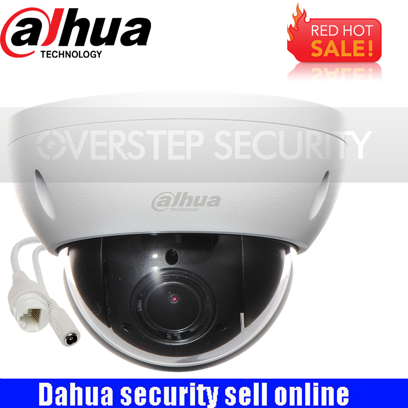 Оригинал dahua DH-SD22404T-GN CCTV IP 4MP Full HD Сеть мини PTZ IP купольная 4x оптический зум SD22404T-GN POE Камера
