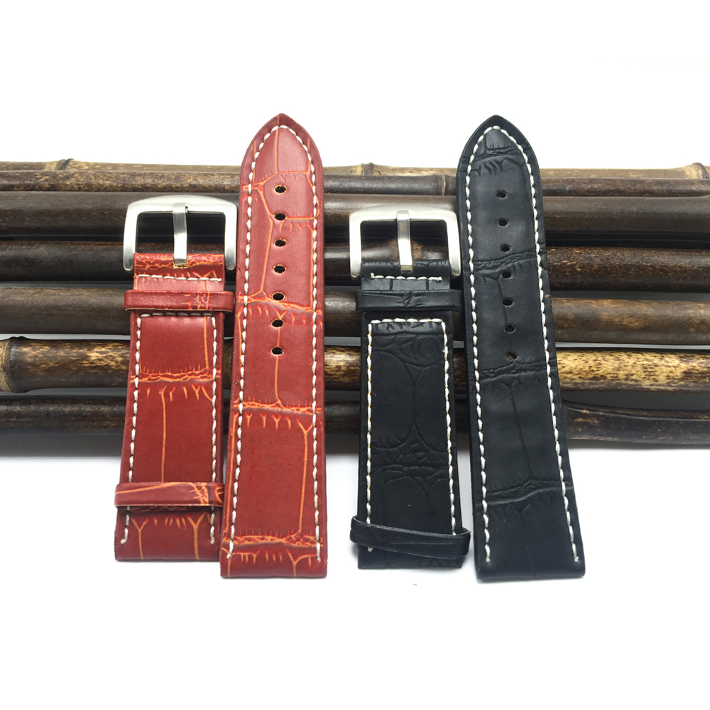 20/22/24/26 /28/30MM Large women watches straps 24mm 2018 hot fashion Men bracelets and watchbands relogios masculinos A017
