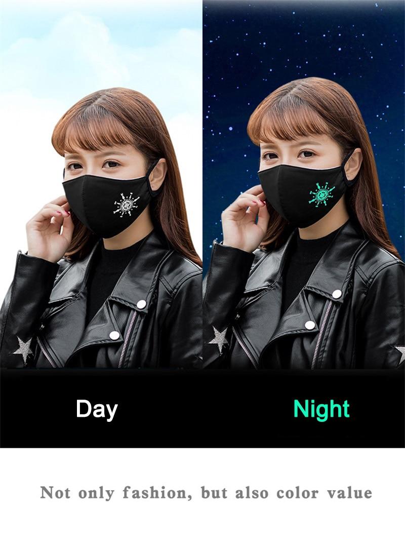 maschera bocca in tessuto