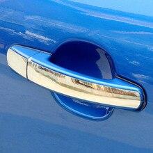 Цветная моя жизнь, нержавеющая сталь, автомобильные дверные ручки, защитные крышки, наклейки для Ford Focus 2 3 4 2005- Kuga Escape 2012