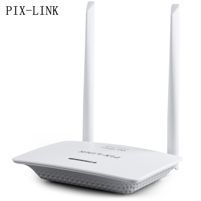 PIX - LINK 300Mbs 802.11n Wireless-N Router Server with Two Antennas For Business and Home EU PLUG