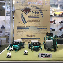 3-In-1 DIY Neo Programming Scratch Intelligent Obstacle Avoidance Car Robot Kit Programmable Toy For Boys Student High Quality(China)