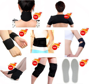 Image 1 - Free Shipping 14 pcs/set Tourmaline Magnetic Therapy Self Heating Massage Belt Tormaline Belt For Keeping Warm & Relieve Pain