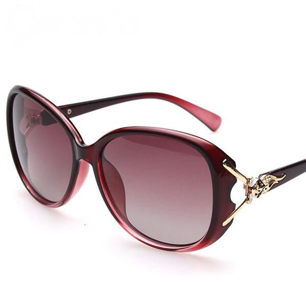Brand New 2016 Fox Style Sunglasses women Polarized Sun Glasses for Women Oculos Frame Sunglass Round