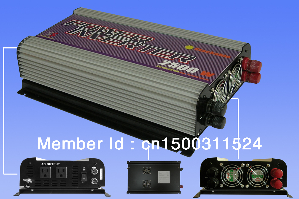 Free shipping. 2500W Stackable Power Inverter(SUN-2500P),Wholesale with coupon