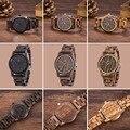 Marca de lujo de los Relojes de Madera UWOOD Nogal Natural 100% Pulsera de Madera De Sándalo De Madera de Moda Reloj Casual Para Hombres Mujeres Unisex