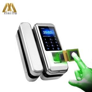 Image 3 - Дверной замок с биометрической разблокировкой по отпечатку пальца и клавиатурой