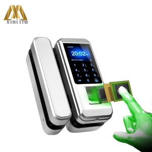 Image 3 - Yeni varış biyometrik parmak izi kapı kilidi tuş takımı ile XM 300 ev ofis için anahtarsız kapı kilidi anti hırsızlık