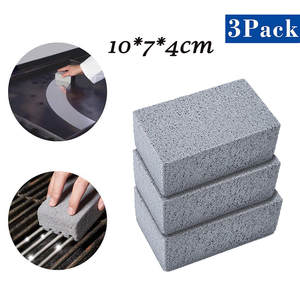 Barbecue-Scraper Grill Stains-Brush Clean-Brick Cleaning-Stone BBQ Handheld Ecological