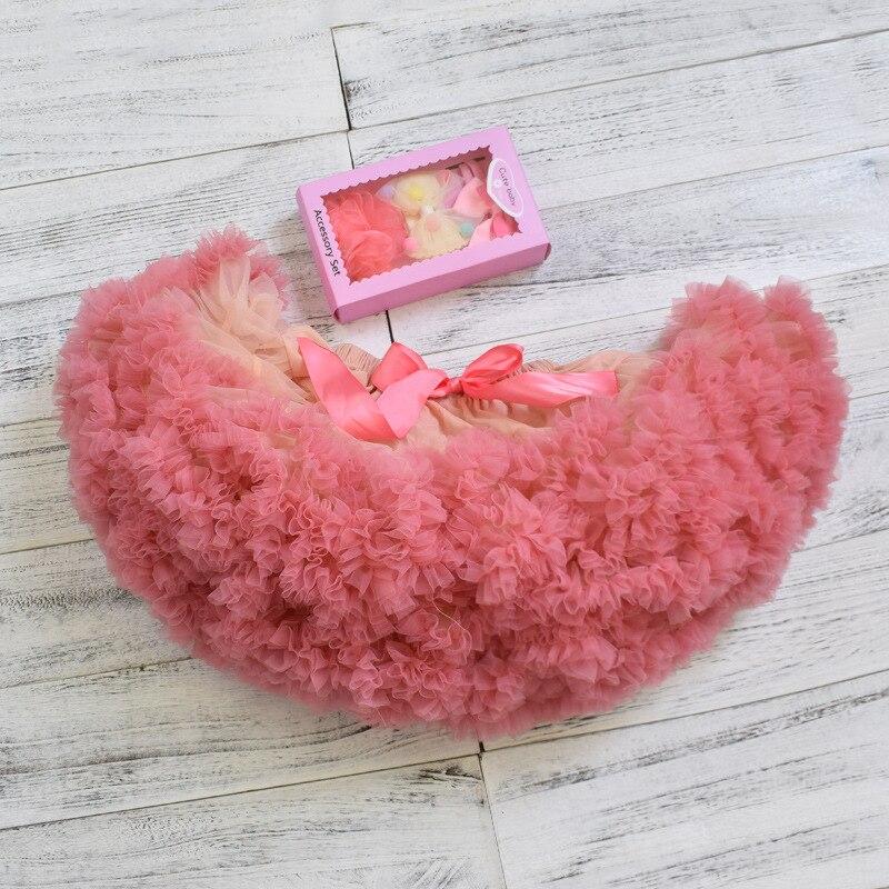 6029973c0 Bebé niñas princesa Arco Iris fiesta Ballet tutú faldas tul falda niñas  niños Tutus Pettiskirts ...