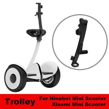 Xiaomi Original Mini Scooter carrito barra de tracción Xiaomi equilibrio Scooter mango plegable ligero para Xiaomi Mini Scooter