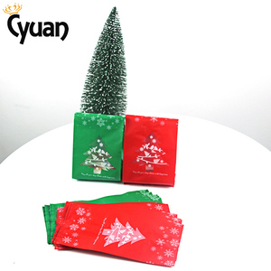 Image 3 - 20pcs Christmas Gift Bags Package Bag Xmas Gift Decor Christmas Tree Candy Gift Bag Navidad Christmas Decorations for Home