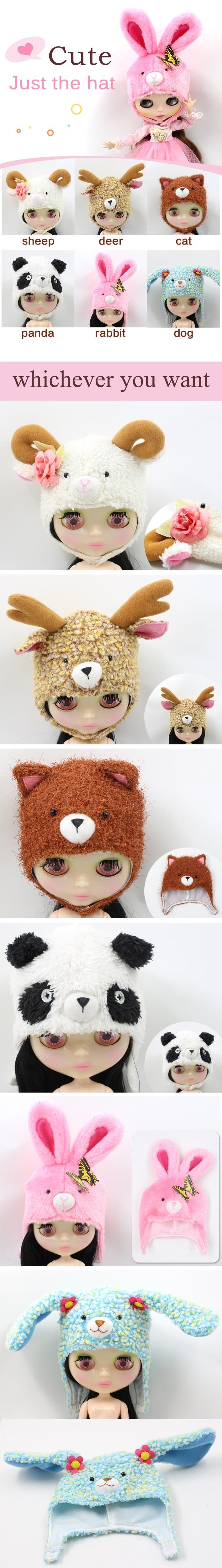 Neo Blythe Doll Animal Hat 1