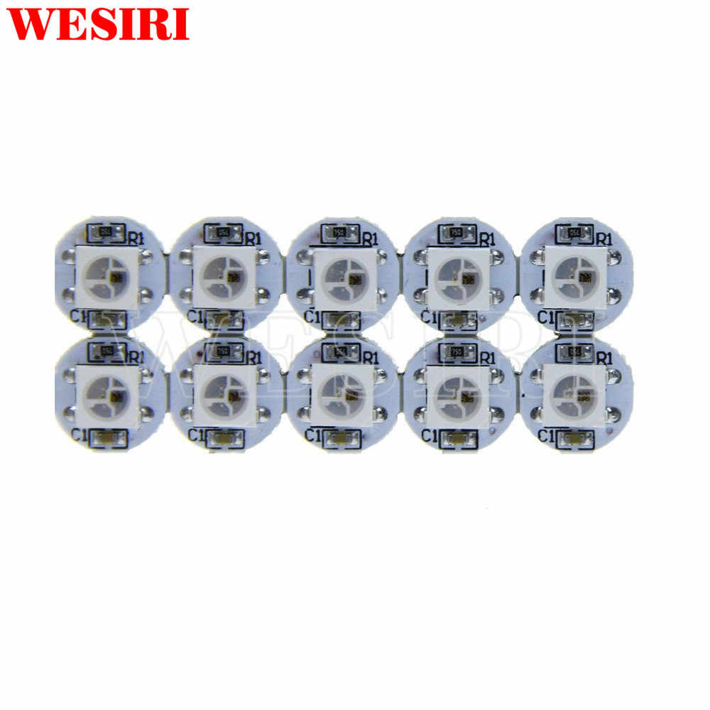 WS2812B 4-Pin LED Chips With WS2811 IC Built-in 5050 RGB SMD Chip DC5V
