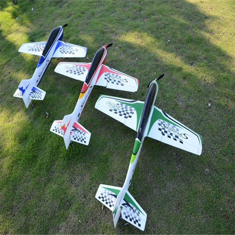 Sport RC Airplane 950mm Wingspan EPO F3A FPV Aircraft RC Airplane KIT For Children Outdoor Toy Models Red Blue Green