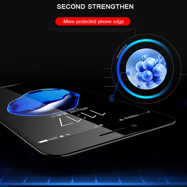5D Full Cover Protection Tempered Glass For iPhone 6 glass iPhone 7 glass 6s 8 Plus X XR XS 11 12 Pro MAX Screen Protector HD 5